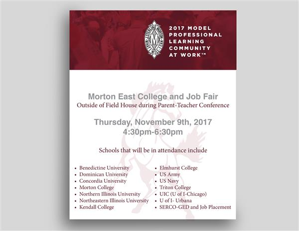 Morton East College and Job Fair