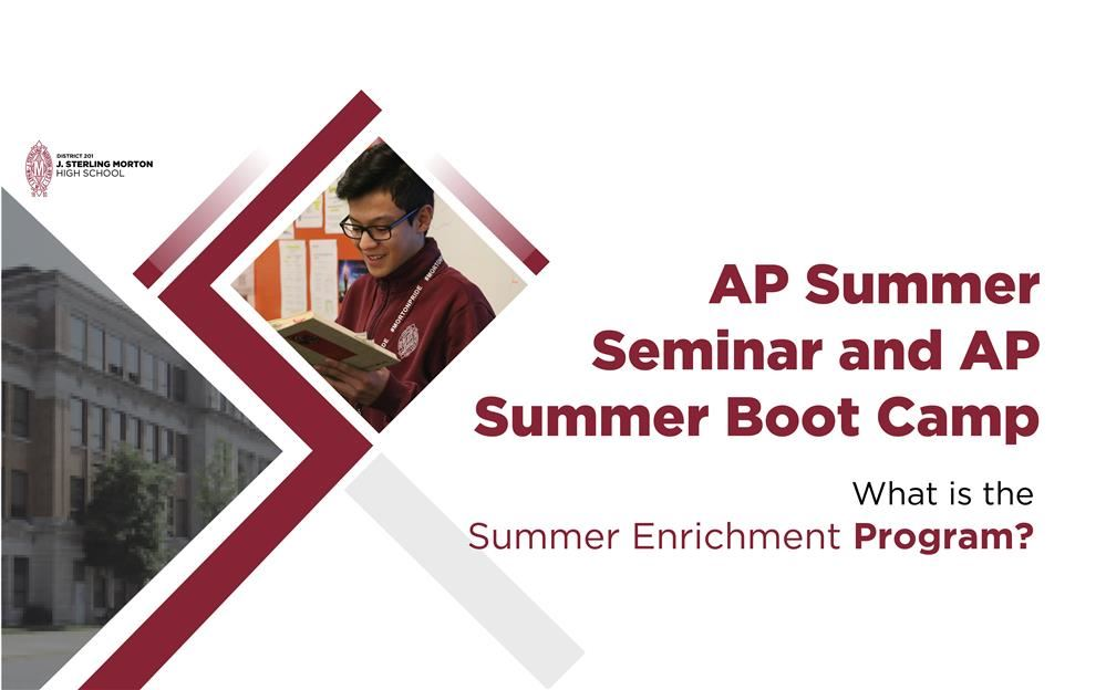 AP Summer Seminar and Boot Camp Program Dates