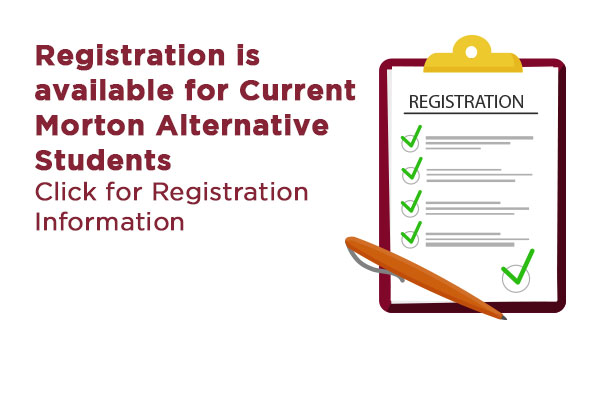 Morton Alternative Registration
