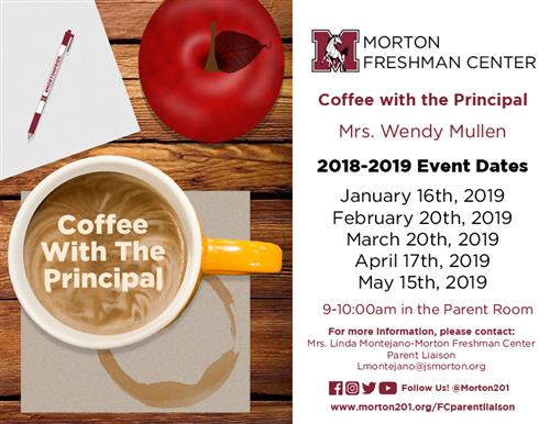 FC Coffee with the Principal 2018-2019