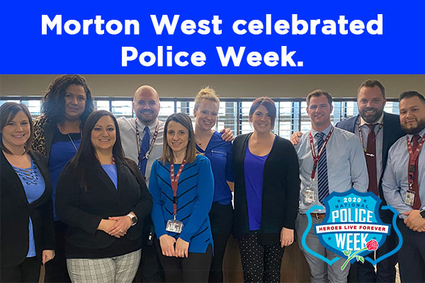 Morton West celebrated Police Week